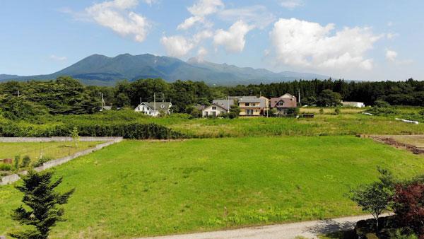 Iさんが購入したのは当社が仲介した那須岳が一望できる景観抜群の土地